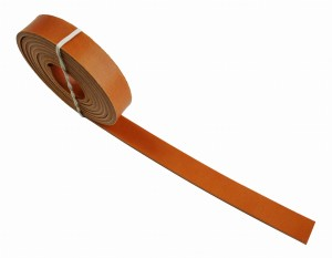 Leather belt  2 cm - about 200 cm (1)